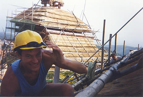 Thatching in Taiwan